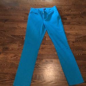 Turquoise jeans NYDJ